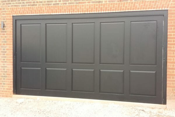 Bespoke Cedar garage door