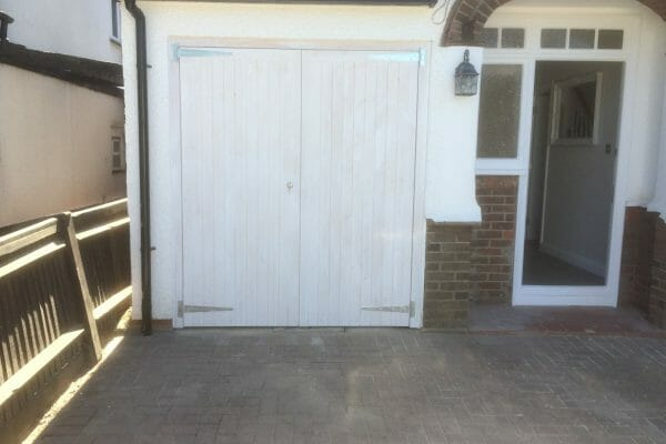 Softwood side hinged doors