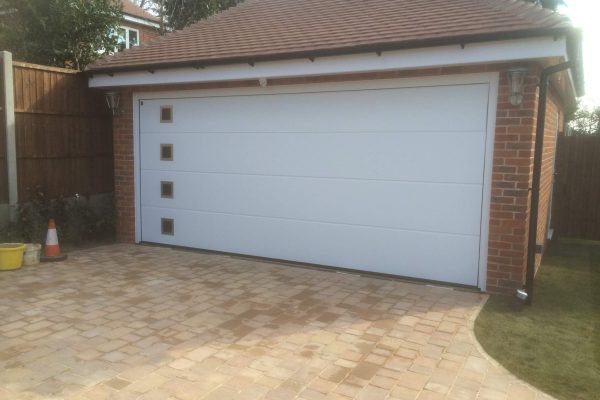 sectional garage door installation