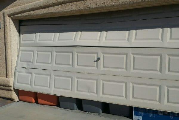 dented garage doors
